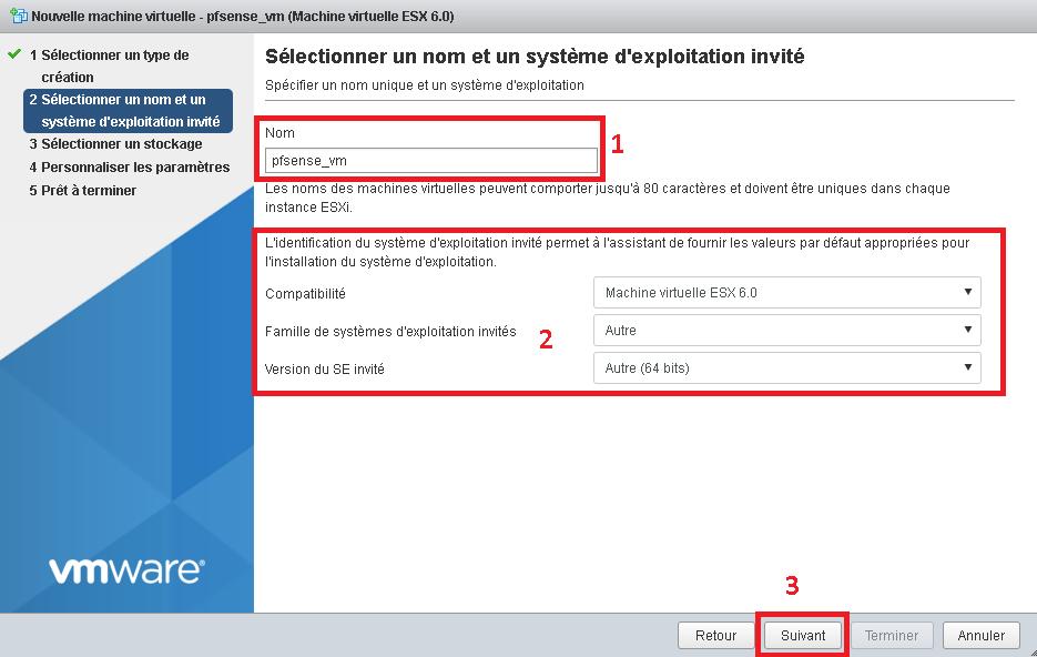 Lab ESXi - Installation et configuration de pfSense | All IT Network