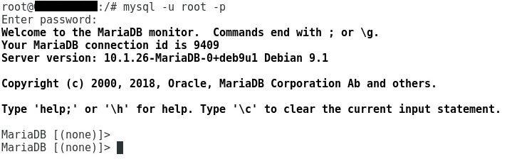 Connexion base SQL