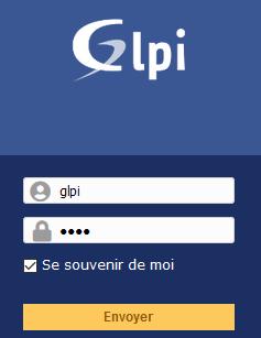 GLPI interface WEB - Connexion